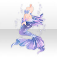 (Tops) Jewel Mermaid Pompous Style ver.A purple