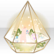 (Avatar Decor) Fairy Terrarium with Jewels & Light ver.A yellow