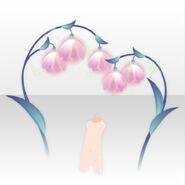 (Back Accessories) Snow Drop Illumination ver.A pink