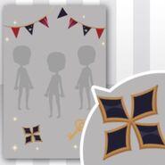 (Show Items) Flag Garland Decor1 ver.1