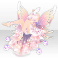 (Tops) Graceful Fairy Shining Dress Style ver.A pink