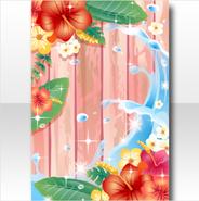 (Wallpaper Profile) Hawaiian Hibiscus at Foreshore Wallpaper ver.A red