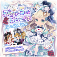 (Twitter) CocoPPa Play 5th Anniversary