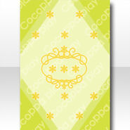 (Wallpaper Profile) Simple Flower Wallpaper ver.A green
