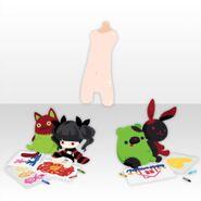 (Avatar Decor) Possession Cute Dolls ver.A green
