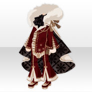 (Tops) Snow Land Prince Style ver.A red