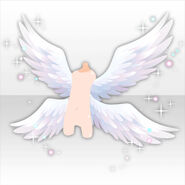 (Back Accessories) Gorgeous Angel Wings ver.a white