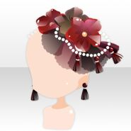 (Head Accessories) Elegant Perfume Corsage ver.A red