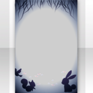 (Show Items) Night Animals in Quiet Forest Decor2 ver.1