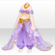 (Tops) Arabian Night Dhoti Pants ver.A purple