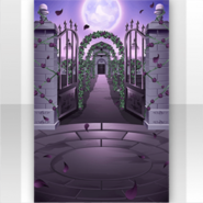 (Show Items) Dark Rose Full Moon and Entrance of Garden Stage ver.1