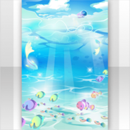 (Show Items) Sky & Light in the Ocean Stage ver.1