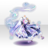 (Tops) Floating Occult Princess Style ver.A white