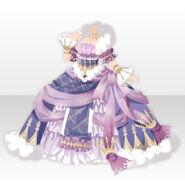 (Tops) Dream Cloud Goddess Bell Line Dress ver.A purple