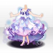 (Tops) Glass Shower Princess Style ver.A purple