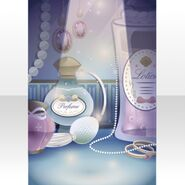 (Wallpaper Profile) Shining Dressing Table Wallpaper ver.A pink