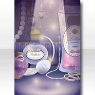 (Wallpaper Profile) Shining Dressing Table Wallpaper ver.A purple