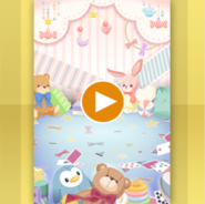 (Show Items) Colorful Stuff Animals Room Stage ver.1