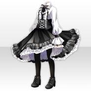 (Tops) La Clarte Corset Dress Style ver.A black