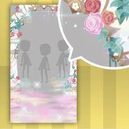 (Show Items) Fontana Flower Arch Gate Decor1 Pink ver.1