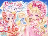Rainbow Color Flower Garden