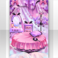 (Show Items) Cute Devil Bedroom Stage ver.1