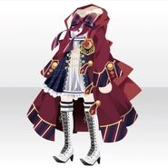 (Tops) Phantom Elegant Witch Style ver.A red