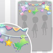 (Show Items) DayDream Animal Garland Decor2 ver.1