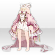(Tops) Alice Classical Sexy Lolita Dress ver.A pink