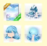 (Promotion) Hydrangea in Shiny Rain (Remix) - Blue Sky Girl
