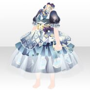 (Tops) Elegant Perfume Dress ver.A blue