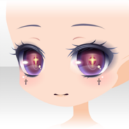 (Face) Praying Mysterious Face ver.A purple