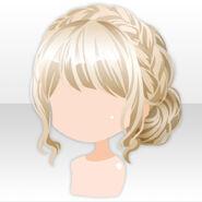 (Hairstyle) Fontana Braid Up Hair ver.A yellow