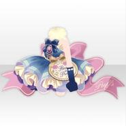 (Tops) Happy Makeup Girls Fluffy Mini Dress ver.A blue