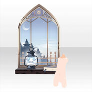 (Avatar Decor) Tower Mysterious Window ver.A white