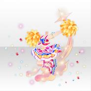(Tops) U.S. Cheerleader Shining Dance Style ver.A yellow