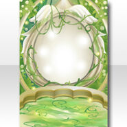 (Wallpaper Profile) Botanical Elf Hidden Place Wallpaper ver.A green