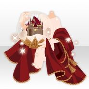 (Hand Accessories) Snow Dome in Hand ver.A red