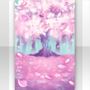 (Show Items) Falling Cherry Blossoms Spring Wind Stage ver.1