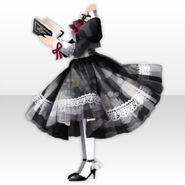 (Tops) La Clarte Ladylike Style ver.A black