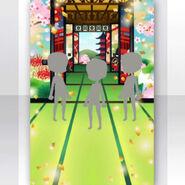 (Show Items) Falling Cherry Blossoms Kasanari-Fusuma Stage ver.1