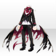 (Tops) Underworld Classic Wing Style ver.A red