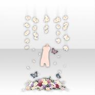 (Avatar Decor) Oblivious Flower Strange Space ver.A white