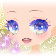 (Face) Angel Singing Happy Smile Face ver.A purple