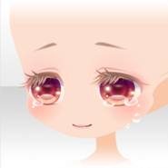 (Face) Beauty Princess Weeping for Joy Face ver.A red