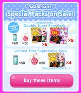 (Packs) Glittery ZOMBIE - Special Packs 2