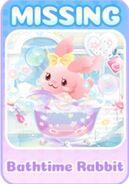 (Characters) Bubbly Bathtime - Bathtime Rabbit