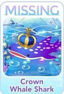 (Characters) Find'em Aquarium - Crown Whale Shark