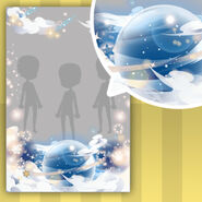 (Show Items) Stars Holding Voiceless Poem Decor1 Blue ver.1