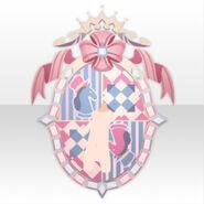 (Back Accessories) Chocolat Knight Emblem ver.A pink